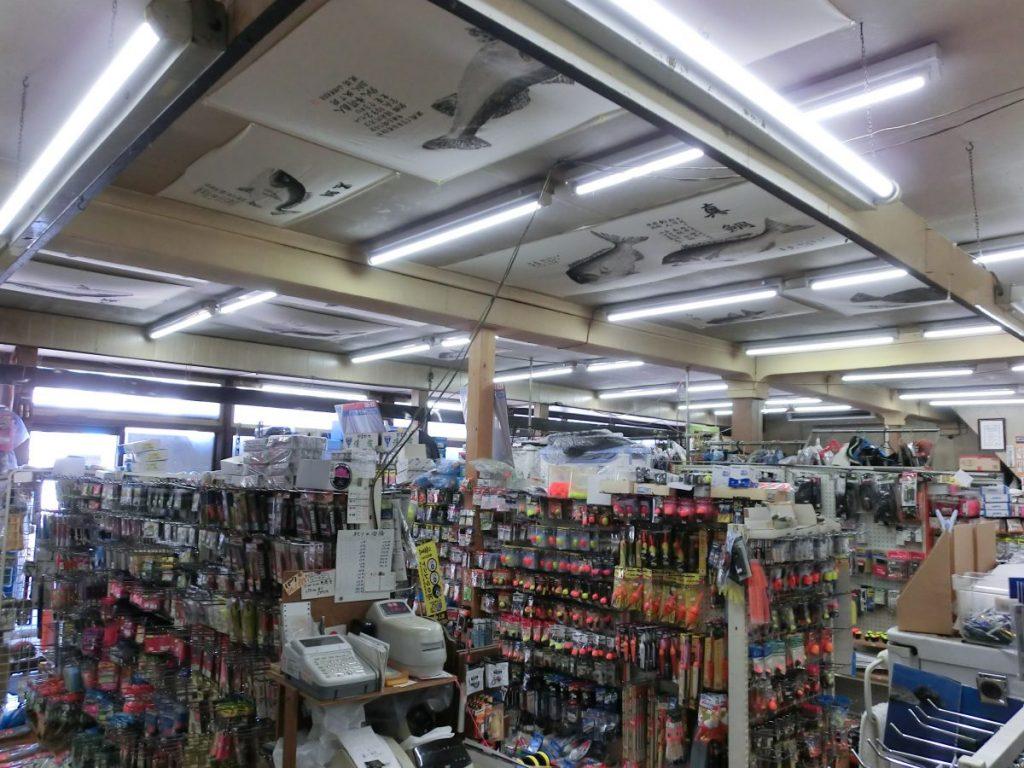 釣具店・佐渡市