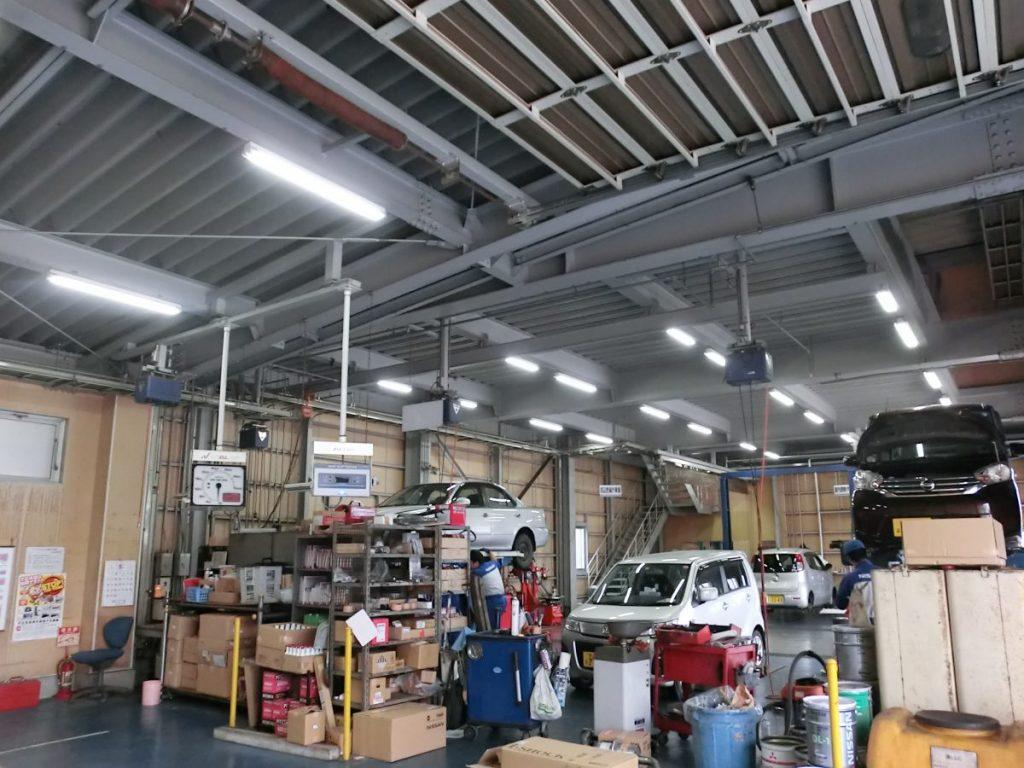 自動車整備・佐渡市